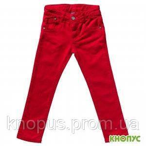 Джинсы для девочек (красные), Girandola, размер 116
