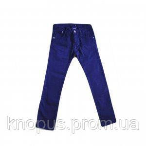 Брюки для девочки (темно-синие), Girandola, размеры 116, 128, 140