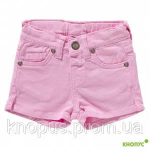 Летние шорты для девочки  (розовые), Girandola, размеры 98, 104