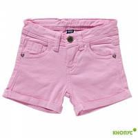 Короткие летние шорты для девочки   (розовые), Girandola, размер 110