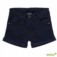 Короткие летние шорты для девочки  (темно-темно-синие), Girandola, размер 116