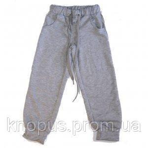 Штаны спортивные (светло-серые), МИНИ, размер 104
