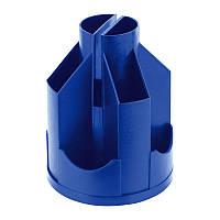 Підставка-органайзер Delta 125х155 мм, пластикова, синя (d3004-02)