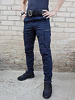 Брюки джинсы летние для ДСНС темно-синие, фото 1