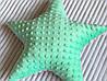 Декоративна подушка зірочка.