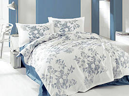 Постельное белье ранфорс Marie Claire (полуторное) № Mia blue