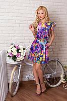 Легкое летнее платье из итальянского шелка