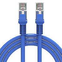 Патч-корд Lesko RJ45 5m сетевой кабель для соединения ноутбука роутера маршрутизатор роутер интернет кабеля