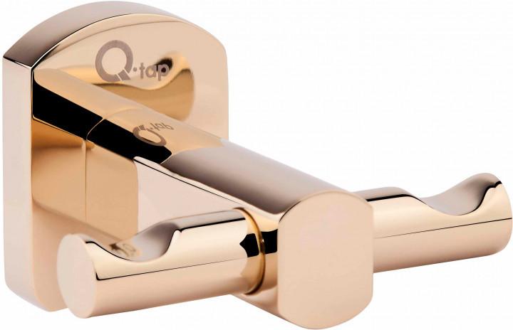 Двойной крючок (латунь) Q-TAP Liberty ORO 1154