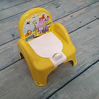 Детский горшок трон стульчик Сафари, Tega, фото 1