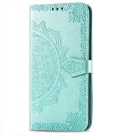 Кожаный чехол (книжка) Art Case с визитницей для Xiaomi Redmi Go