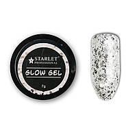 Глиттер-гель Starlet Professional Glow Gel7 мл, № 1