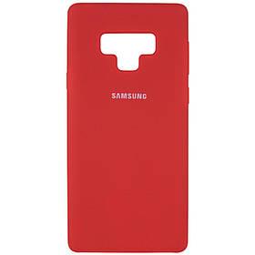 Чехол Silicone Cover (AA) для Samsung Galaxy Note 9.