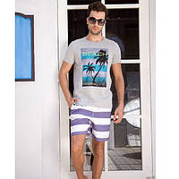Мужские пляжные шорты Qike - №4745