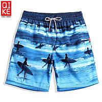 Стильные мужские шорты Qike - №4749