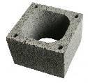 Блок дымоходный 380х380х240мм керамзитобетонный
