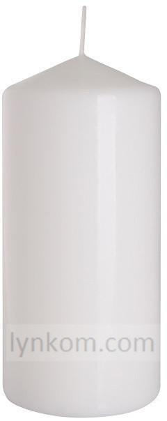 Свеча цилиндр белая оптом 7 х 15 см
