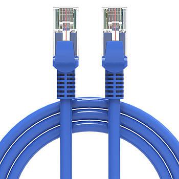 Патч-корд Lesko RJ45 5m сетевой кабель Ethernet интеренет для роутера модема компьютера коннектор перемычки