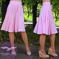 Расклешенная юбка до колен, фото 1