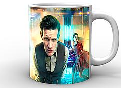 Кружка  GeekLandDoctor Who Доктор Кто постер DW.02.026
