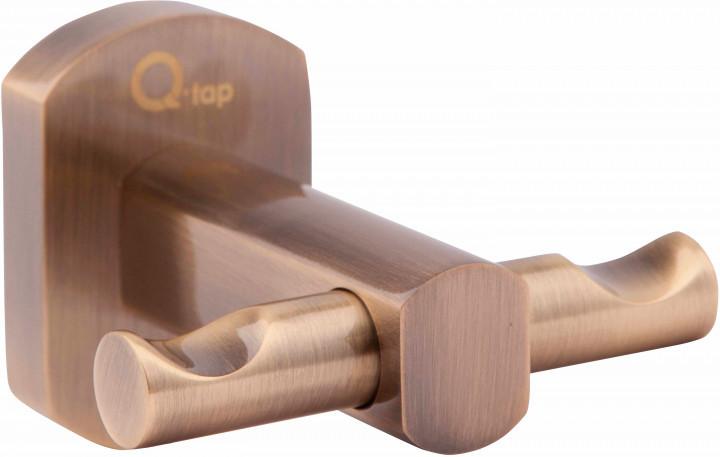 Двойной крючок (латунь) Q-TAP Liberty ANT 1154 бронза