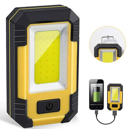 Прожектор светодиодный 30W 1200LM портативный для наружного освещения, фото 2