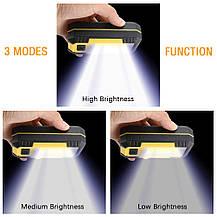 Прожектор светодиодный 30W 1200LM портативный для наружного освещения, фото 3