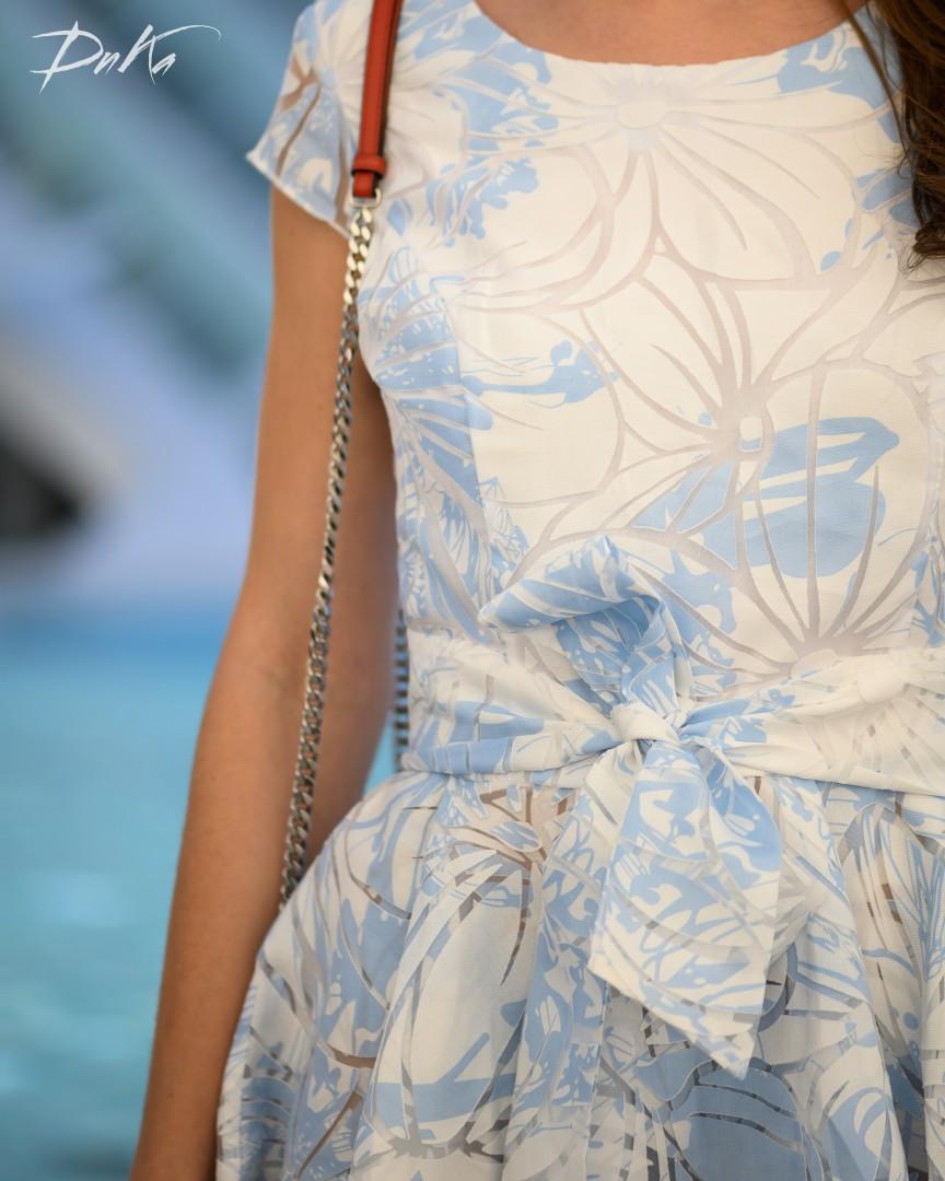 Женское платье органза, фото 1