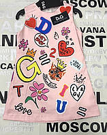 Детское брендовое  платье для девочки D&G