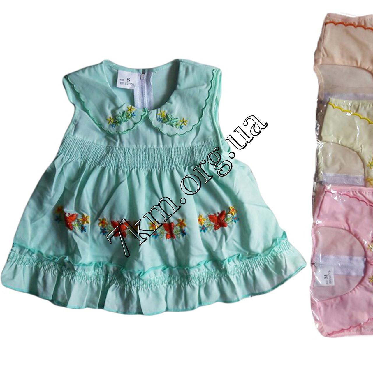 Платье с трусиками батист 6-18 месяцев Оптом 020534