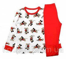 "Пижама  ""Микки Маус"", SUNNY, Украина, размеры 98, 110"