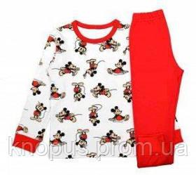 "Пижама  ""Микки Маус"", SUNNY, Украина, размеры 98, 104, 110, 128 128"