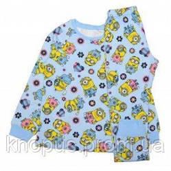 "Пижама  ""Миньоны"", SUNNY, размеры 92-128 122"