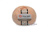 YarnArt Jeans, Персик №73