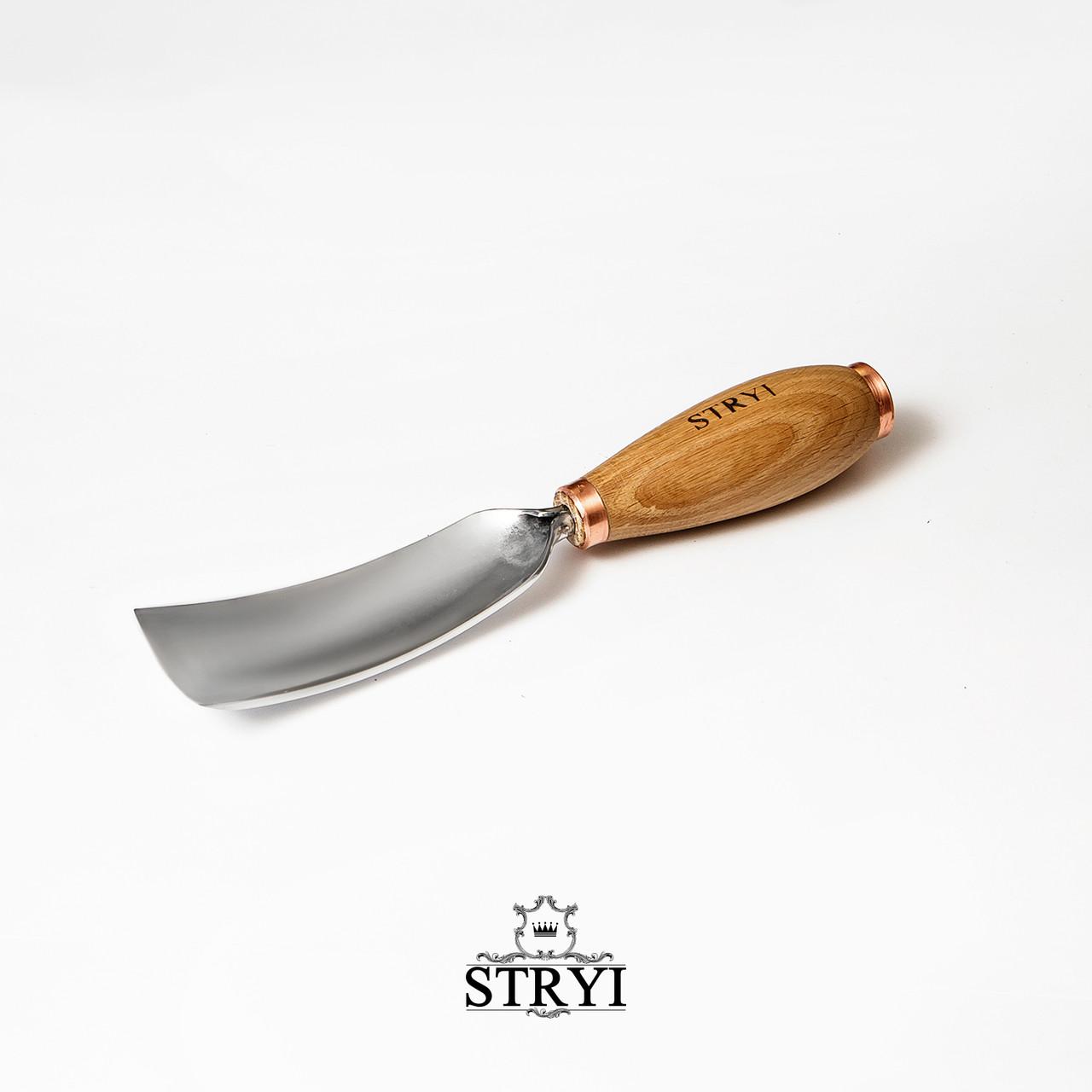 Ударная отлогая клюкарза 60мм №7 для резьбы по дереву от производителя STRYI