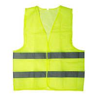 Жилет сигнальный зеленый XL (60*70см), 100 гр/м2 INTERTOOL SP-2023
