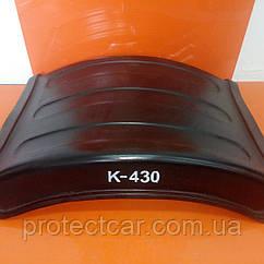 Полукрыло заднее пластиковое К-430 1/3 ( Бомба ) односкатное