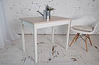 Стол Тавол Классик с прямыми деревянными ногами 93 см х 60см х 75 см Ясень, фото 1