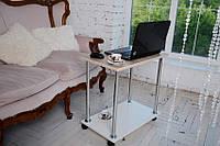 Столик для ноутбука Тавол Loco Ясень Хром, фото 1