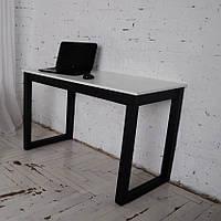 Дизайнерский офисный стол Тавол Тэста 120смх60смх75см Белый, фото 1