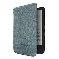 Оригинальная обложка PocketBook Shell Cover для PocketBook 627 Touch Lux 4/616 Basic Lux 2/632 Touch HD 3 (Серо-синий)