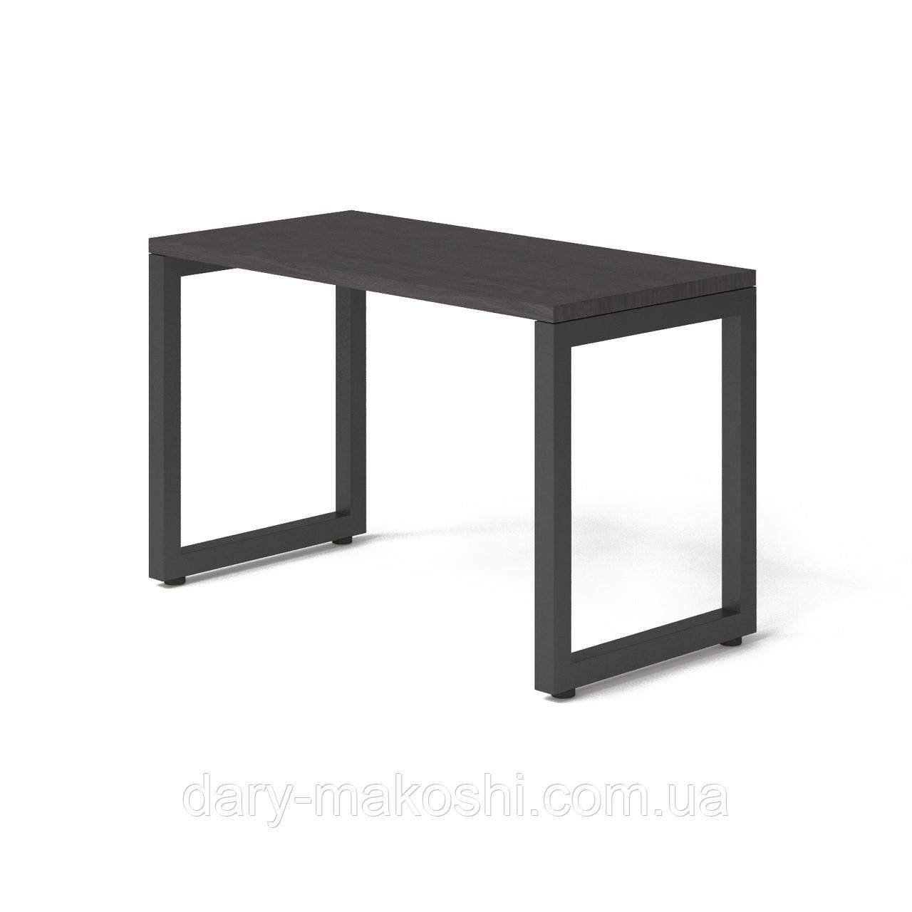 Стол Тавол КС 8.3 металл опоры черные 120смх60смх75см ДСП 32 мм Венге