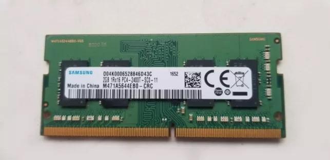 Оперативная память для ноутбука SO-DIMM DDR4 2GB PC4-19200 2400MHz бу