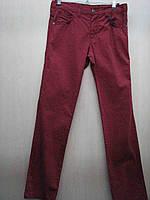 Цветные джинсы для мальчика (Турция)(140) 140 Бордовый