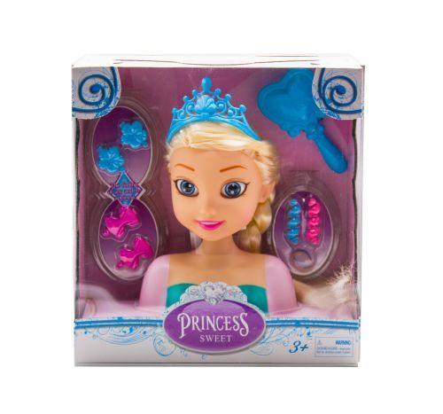"Кукла-манекен для причесок ""Принцесса: Эльза"" L2015-69A-1/2"