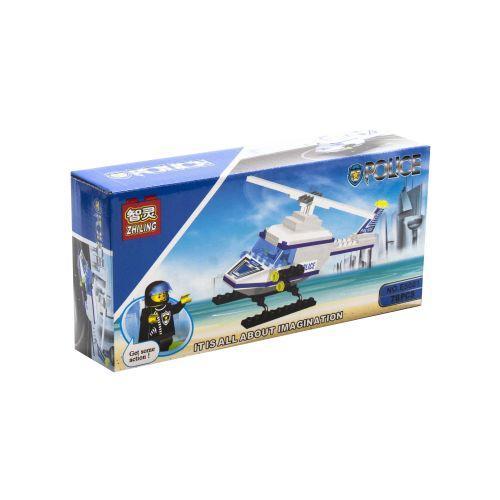 """Конструктор """"Полицейский вертолет"""", 78 деталей E5001-12"""