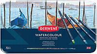 Набор акварельных карандашей Watercolour в мет.короб. 72 цвета, Derwent