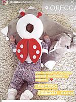Для защиты головы ребёнка от падения божья коровка плюшевая защита на голову малыша