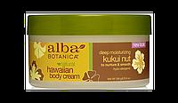 Крем для тела Alba botanica c маслом ореха кукуи