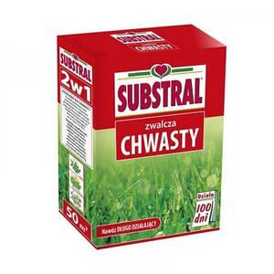 Добриво 100 днів для газону від бур'янів (з гербіцидом) Substral Scotts 1кг